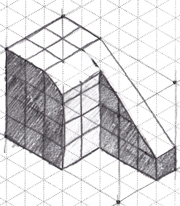 isometric sketch
